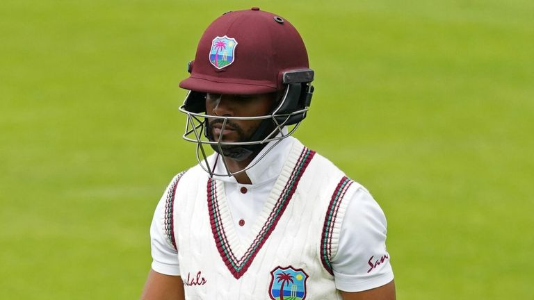 Hope has been backed to come back 'a stronger and better player' by West Indies lead selector Roger Harper