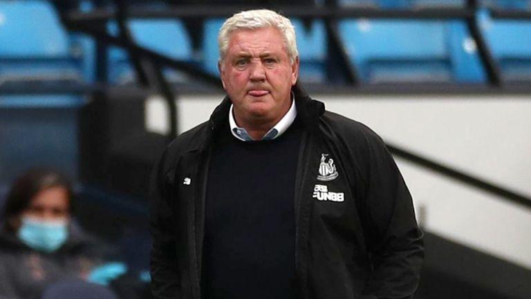Newcastle manager Steve Bruce prepares his team for the next Premier League season