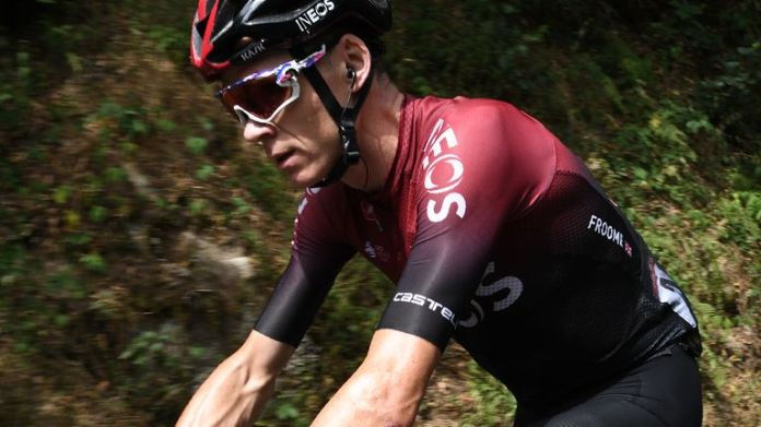 Chris Froome, the four-time Tour de France champion, rode his last day in the saddle for Ineos Grenadiers