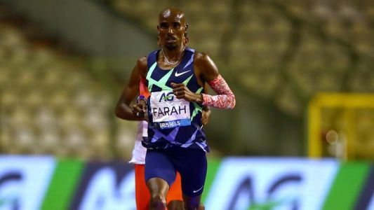 Sir Mo Farah broke the previous record of 21.285km (13.255 miles) set by Haile Gebrselassie in 2007