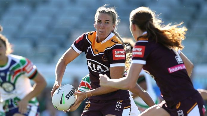 Ali Brigginshaw and the Broncos are aiming for a third NRLW title