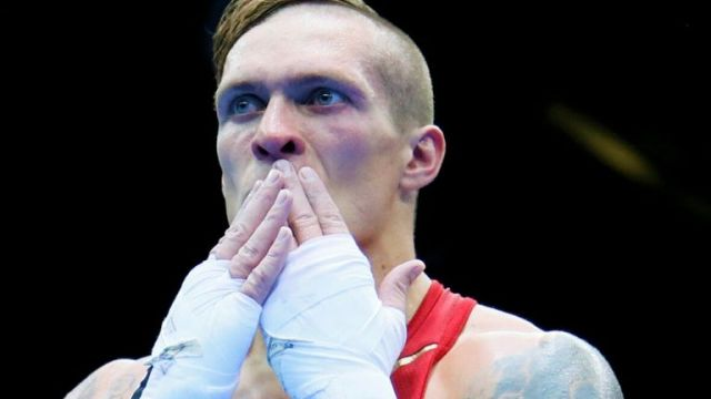 Oleksandr Usyk suffered defeats during an accomplished amateur career