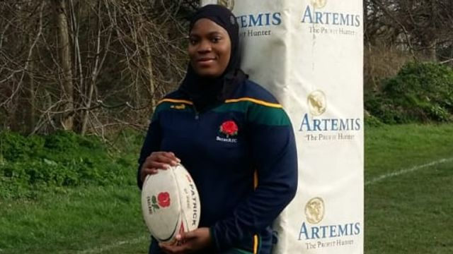 Zainab Alema shares her experiences as a black, Muslim, female rugby player