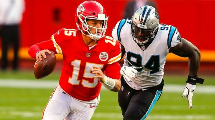 Patrick Mahomes doesn't have huge rushing numbers, but he can move