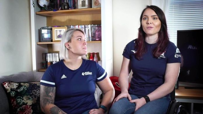 Watch Williams and Love's GB basketball team-mate Jude Hamer share her Rainbow Laces story alongside her girlfriend and fellow Paralympian, Lauren Rowles