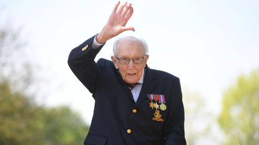 Captain Sir Tom Moore: Sport pays tribute to NHS hero who ...