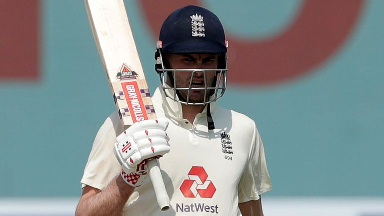 Sibley's development has impressed Sir Alastair Cook (Pic credit: BCCI)