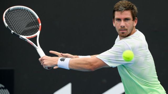 Norrie faces a tough test against Grigor Dimitrov in the second round