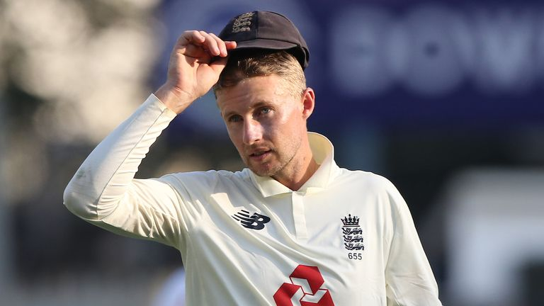 Root's side lost the second Test in Chennai as India leveled the four-match series at 1-1