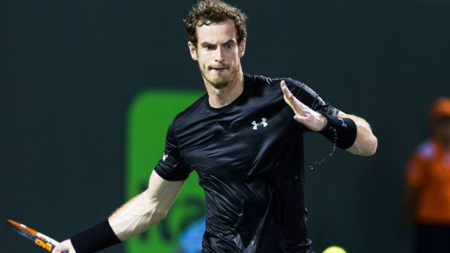 Murray last played at the tournament five years ago (Cal Sport Media via AP Images)