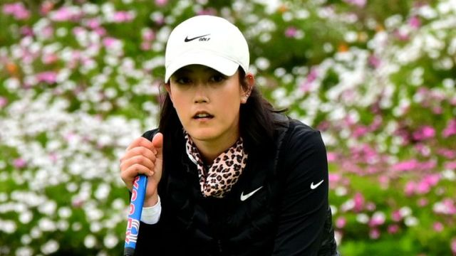 Michelle Wie West birdied the first, but struggled to an 81