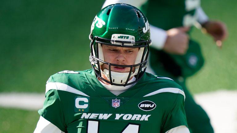 New York Jets Quarterback Sam Darnold (AP Foto / Corey Sipkin)