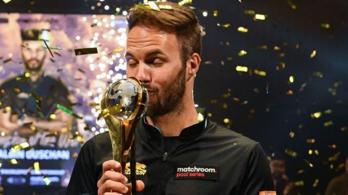 Albin Ouschan became a two-time World Pool champion