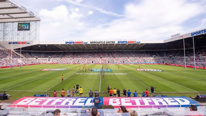 Newcastle United's St James' Park has played host to rugby league and rugby union - could the area become a rugby hotbed?