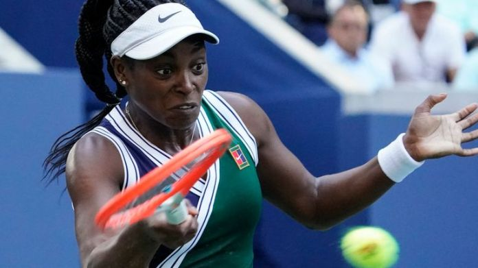 Sloane Stephens lost to Angelique Kerber 5-7 6-2 6-3 in Friday's third-round match