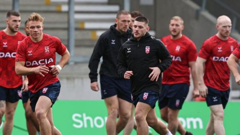England travel for France in an international clash on Saturday