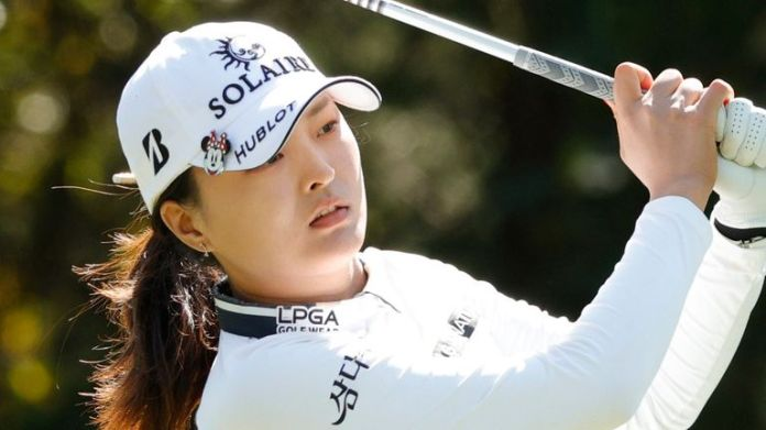 Jin Young Ko missed a good chance at the last to force a playoff