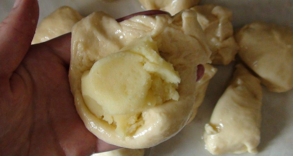 Пирожки с картошкой., пошаговый рецепт на 2219 ккал, фото ...