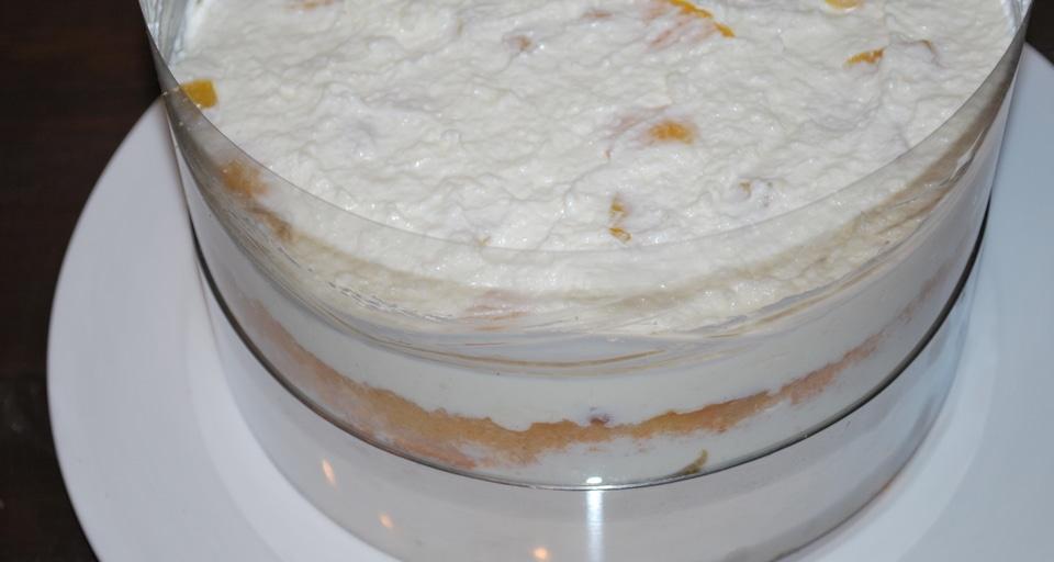 Торт с творожным суфле и фруктами, пошаговый рецепт, фото ...