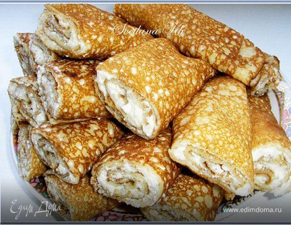 Блинчики с творогом Ингредиенты яйца куриные сахар