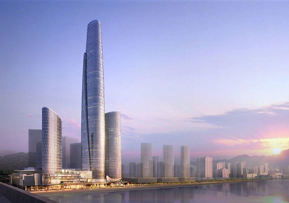 Kina Bygger 13 Av Verdens H 248 Yeste Skyskrapere Utenriks E24