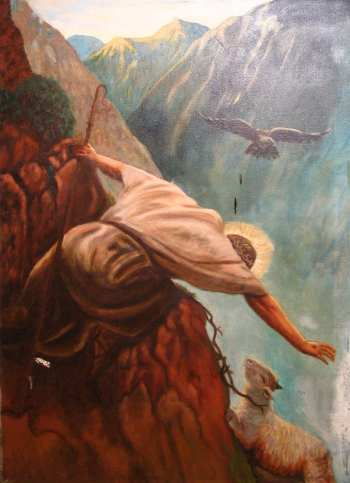 Jesus and the Lost sheep
