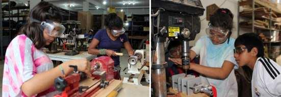 empowering women through woodworking