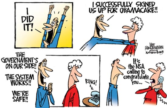Image result for pro obamacare political cartoon