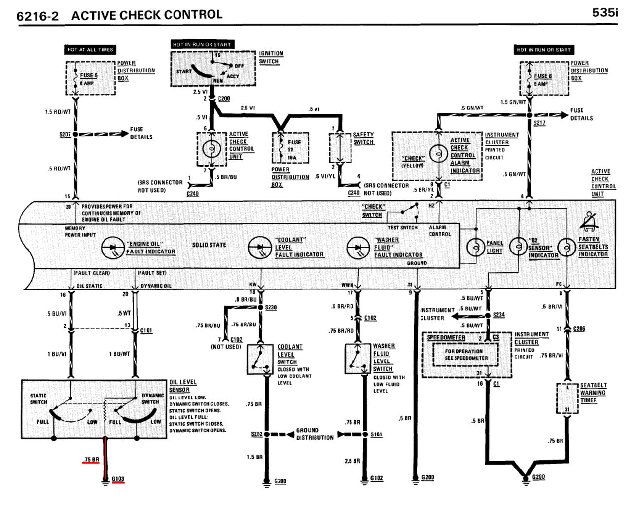 M30 B34 B35 Oil Level Sensor Wire Diagram Help
