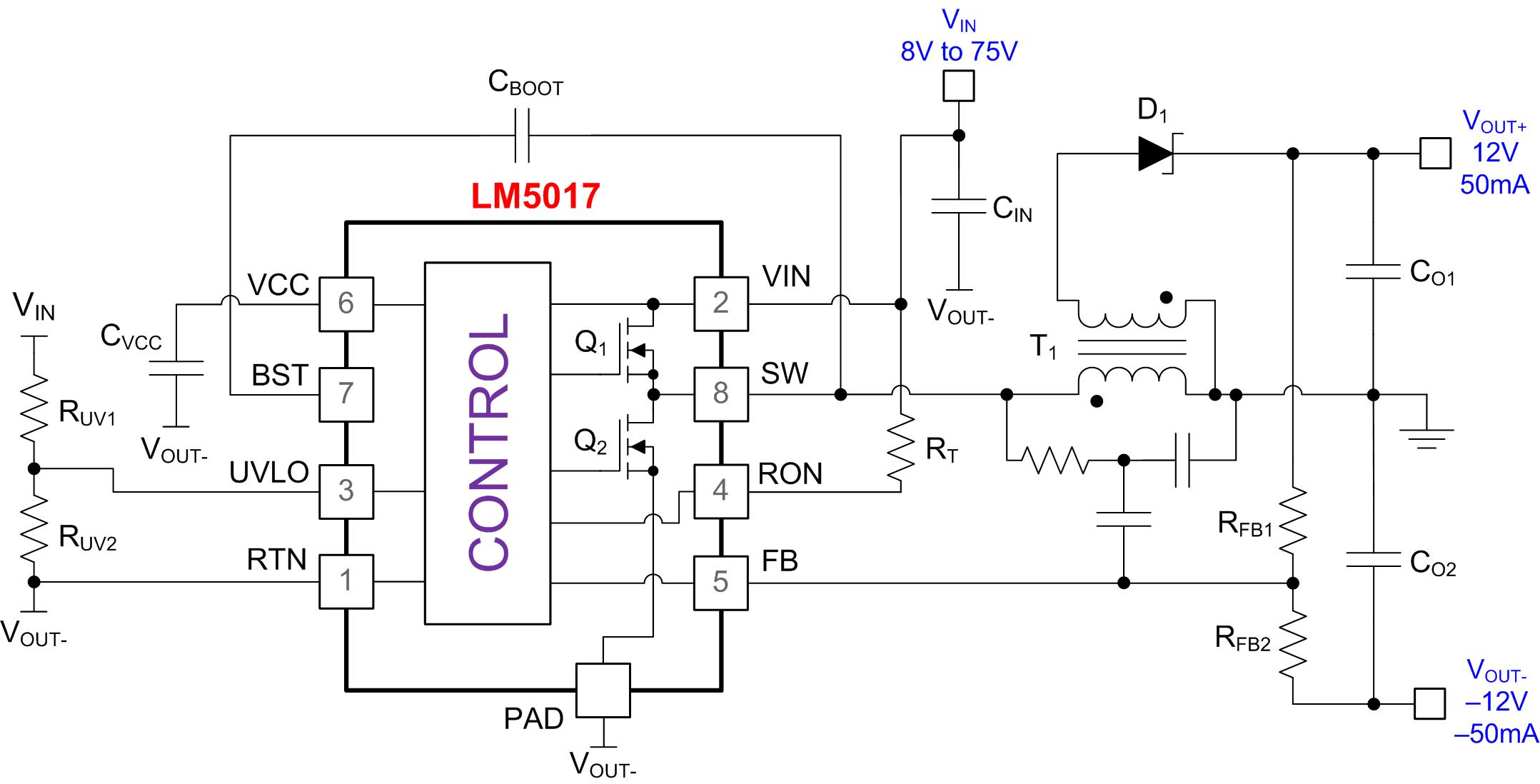Positive Buck Converter With Wide Input Range Circuit