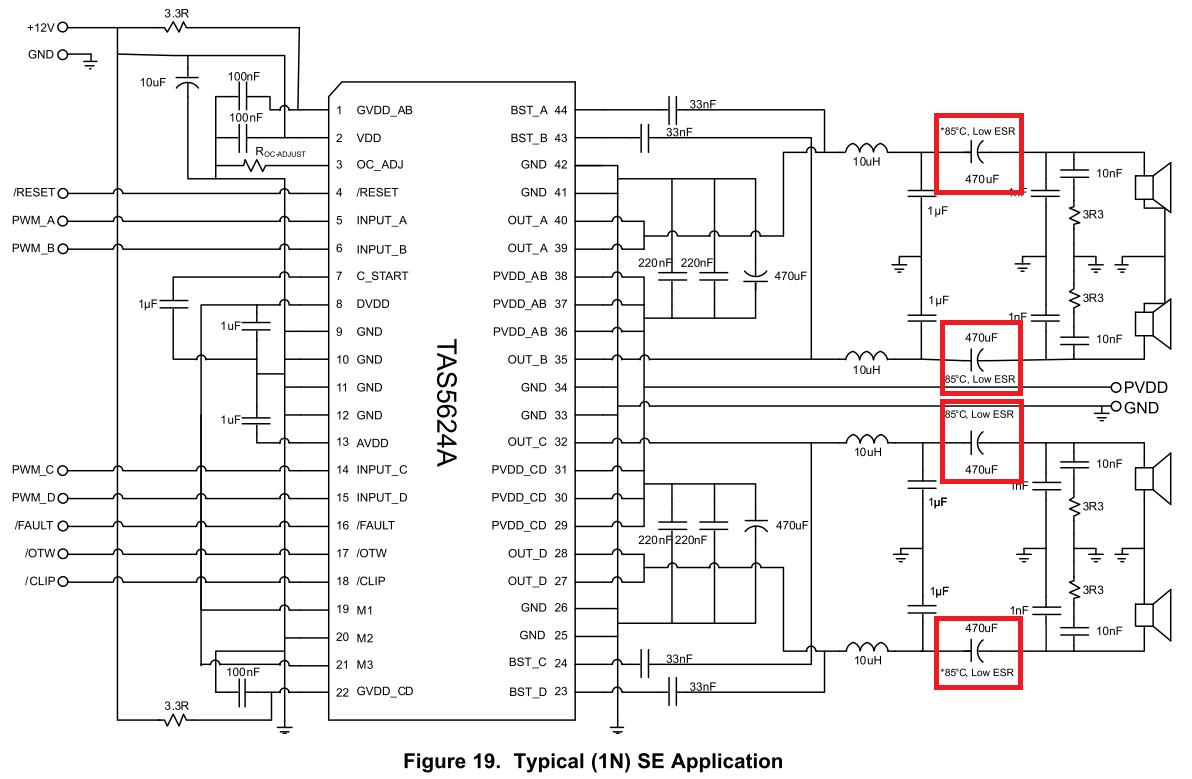 Audio Blocking Capacitor