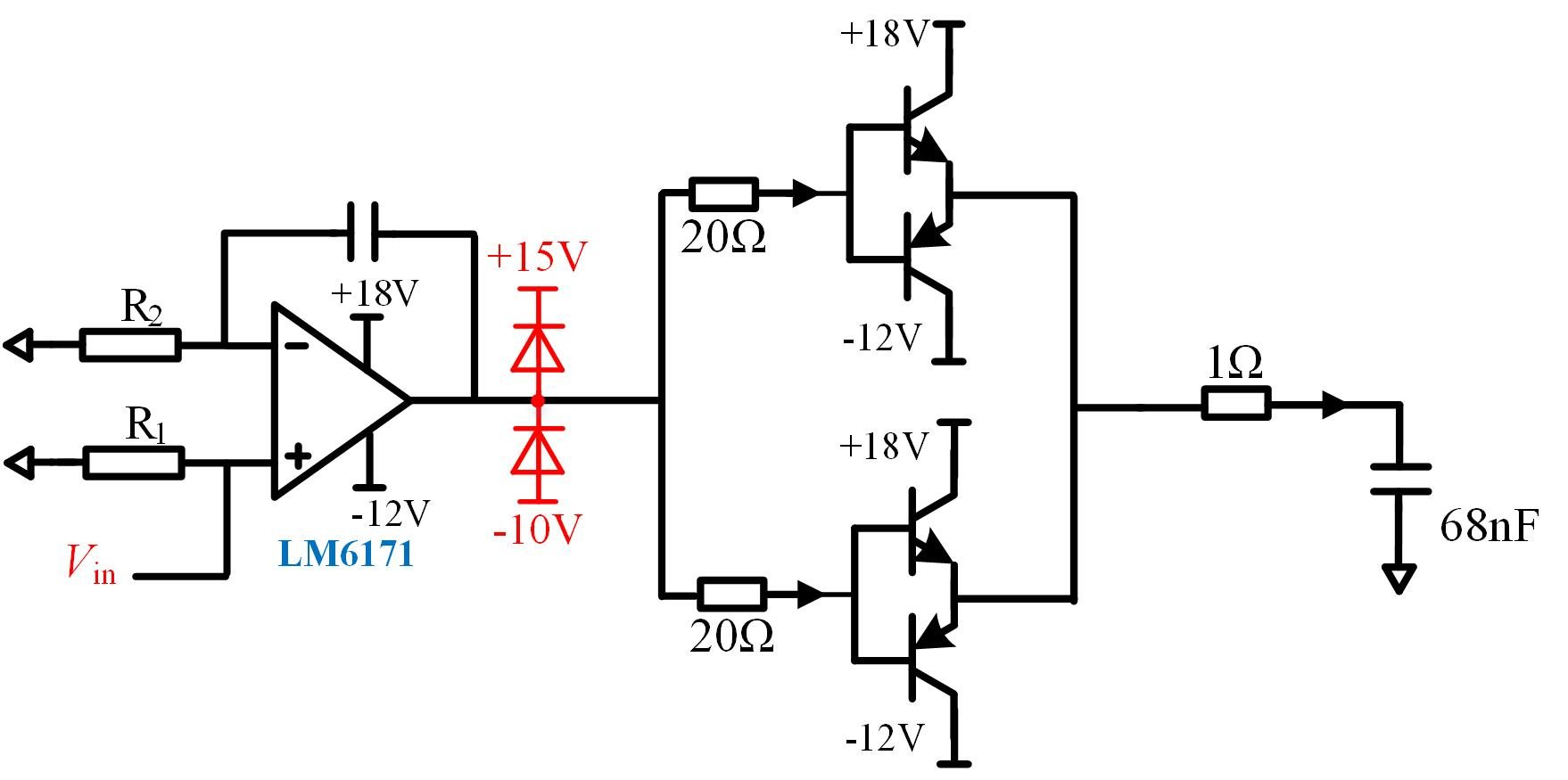 Resolved Lm How To Keep The Op Amp Off Its