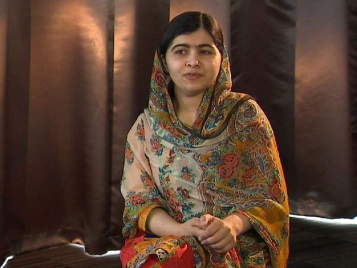 Malala Yousafzai, speaking exclusively to Sky News  Paloma Faith: 'Men couldn't cope with motherhood malala 1 2048x1536 3439676