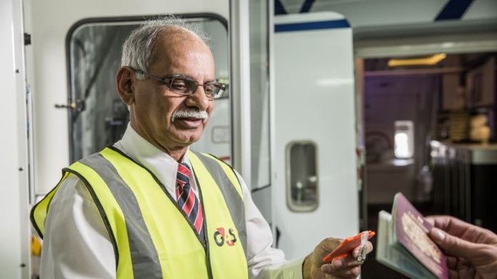 G4S security worker