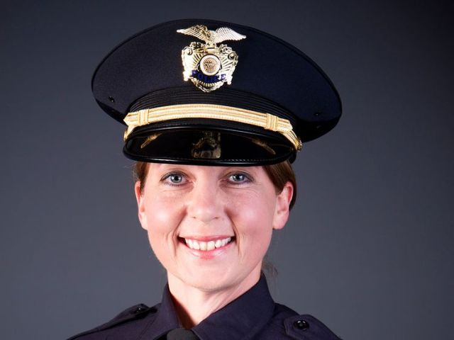 Officer Betty Shelby of the City of Tulsa Police Department in Oklahoma in an undated photo