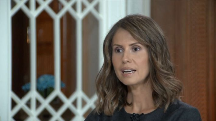 Asma Al Assad, wife of Syrian president, gives interview on range of topics around the war in Syria