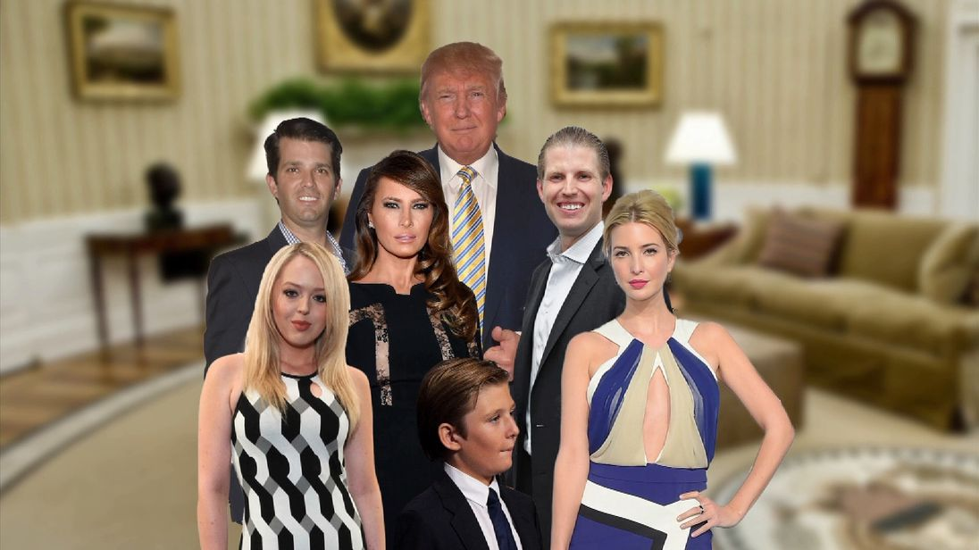 America's newest First Family: The Trumps in profile