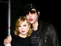 The actress defended her past relationship with Marilyn Manson