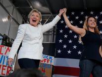 Hillary Clinton and Alicia Machado