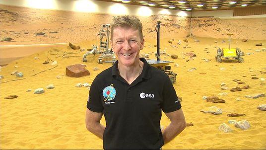 Astronaut Time Peake