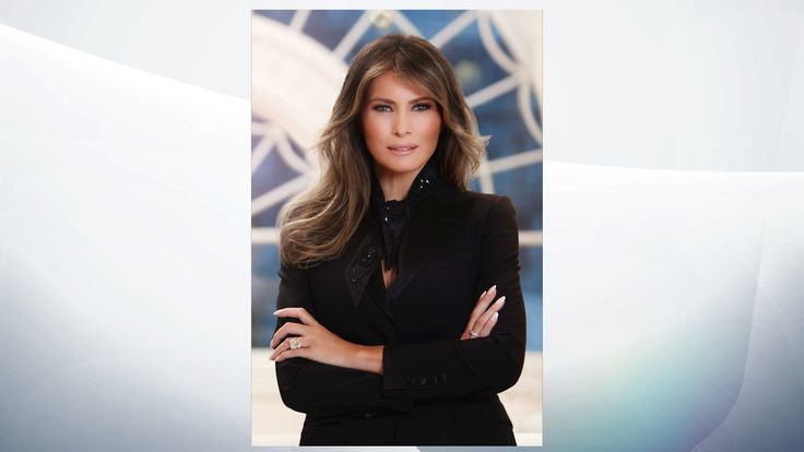 Image result for melania trump official portrait