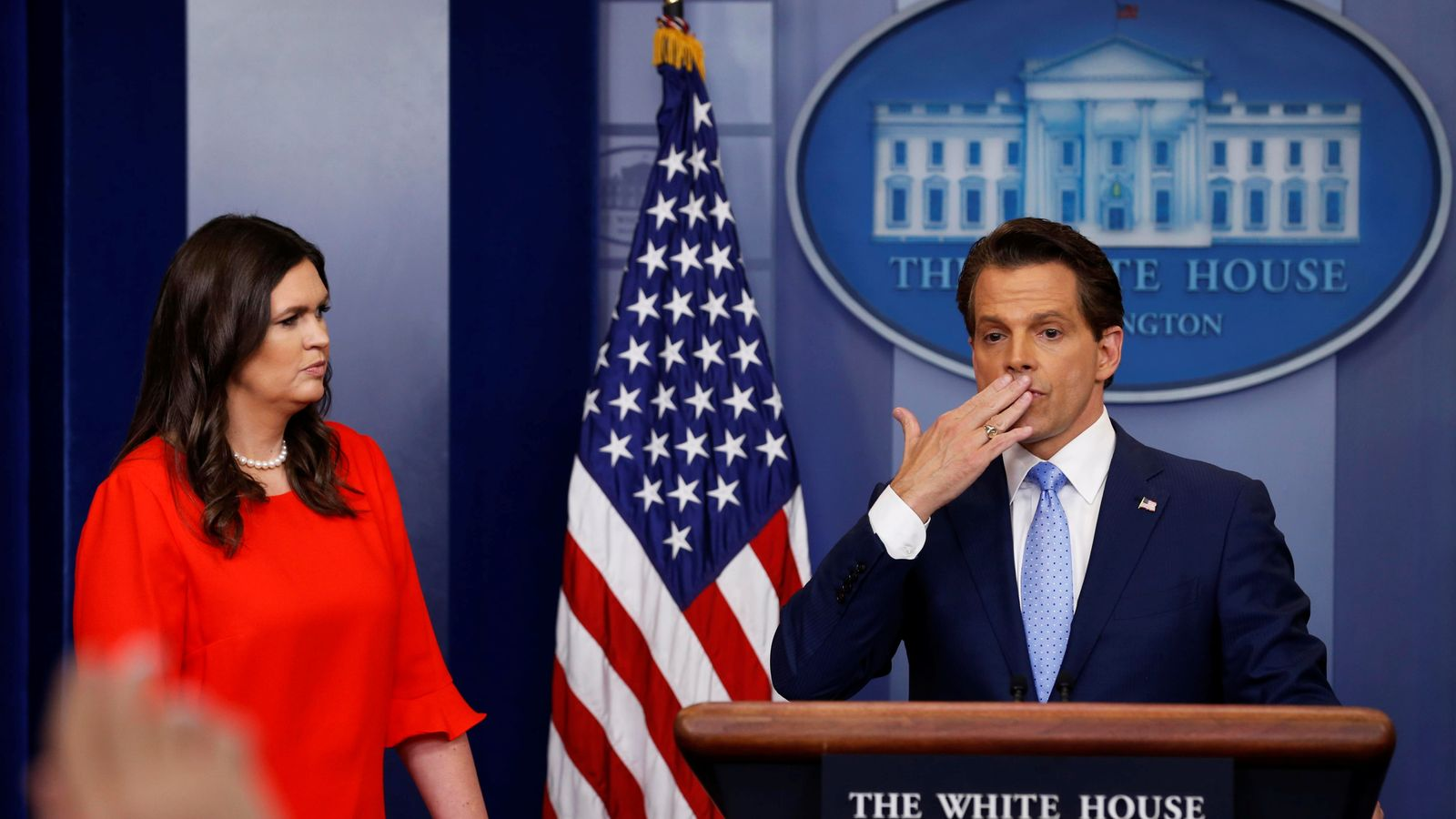 Trump's spin doctor Anthony Scaramucci seals White House ...