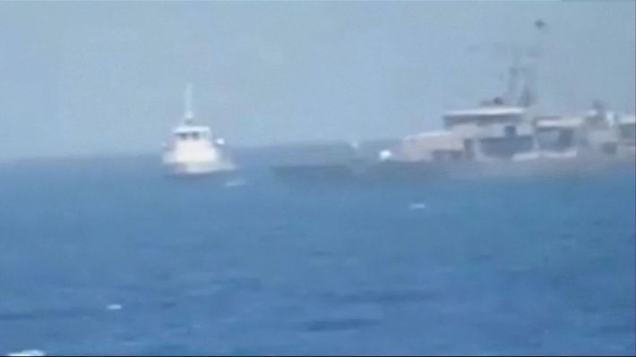US and Iran skirmish at sea with warning shots fired