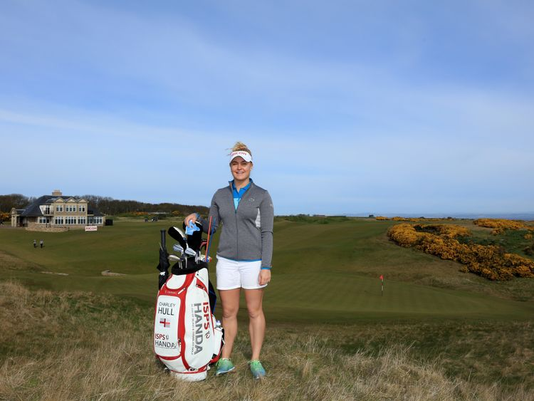 Charley Hull hoping to follow example of England cricket ...
