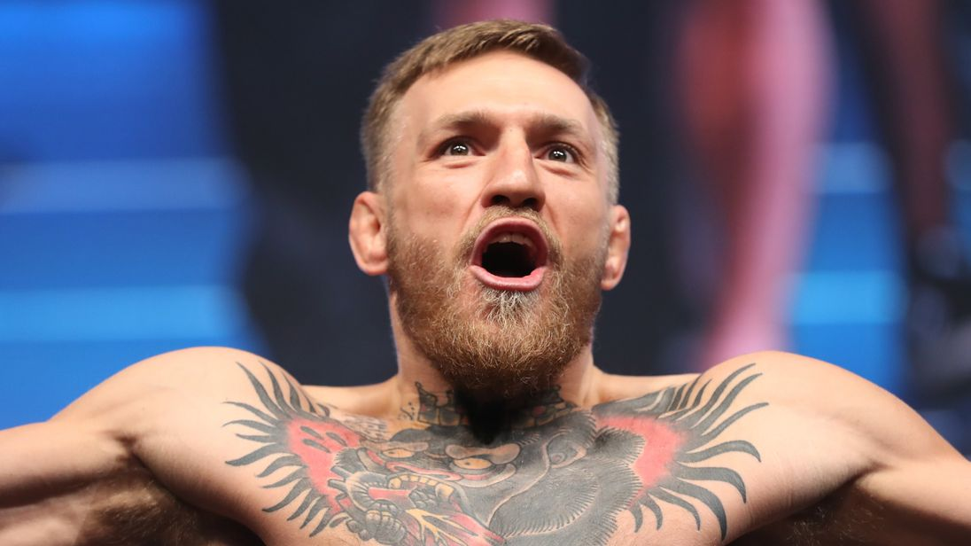 Conor McGregor posts cryptic message hinting at potential ...