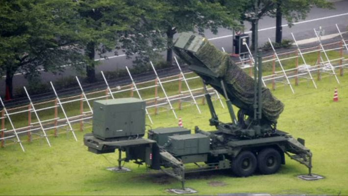 Japan moves its defence missiles into place to the west of the country in readiness for a possible launch from North Korea