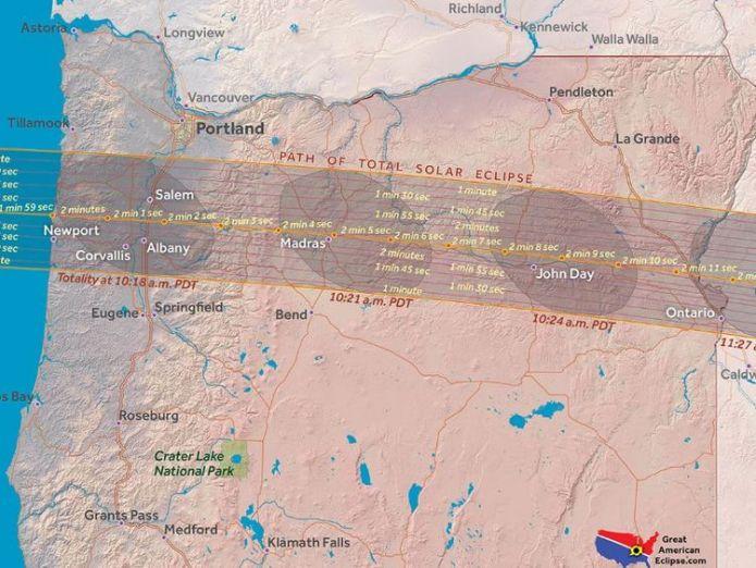 Oregon. Pic: Great American Eclipse Where natural phenonemon will blot out the Sun Where natural phenonemon will blot out the Sun 048e9098a2afda3065441fcbab3f96521a88cbf99a22d0d4196d2a3e37ed58e4 4074370