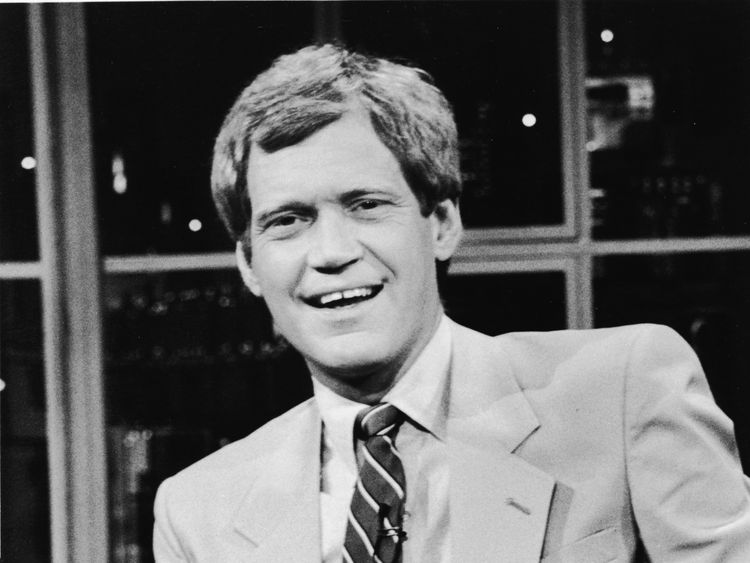 Letterman hosted NBC's late night television show for 33 years