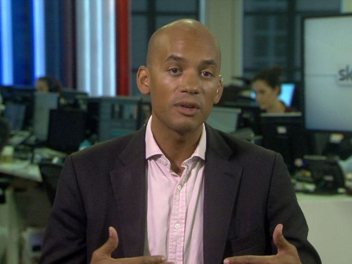 Chuka Umunna in Millbank studio. Brexit will not lead to Mad Max-style world, says David Davis Brexit will not lead to Mad Max-style world, says David Davis a6cf65a90336dcaf186862fe06b21a57117d02ce8774efe71b2641534e511bc6 4080761