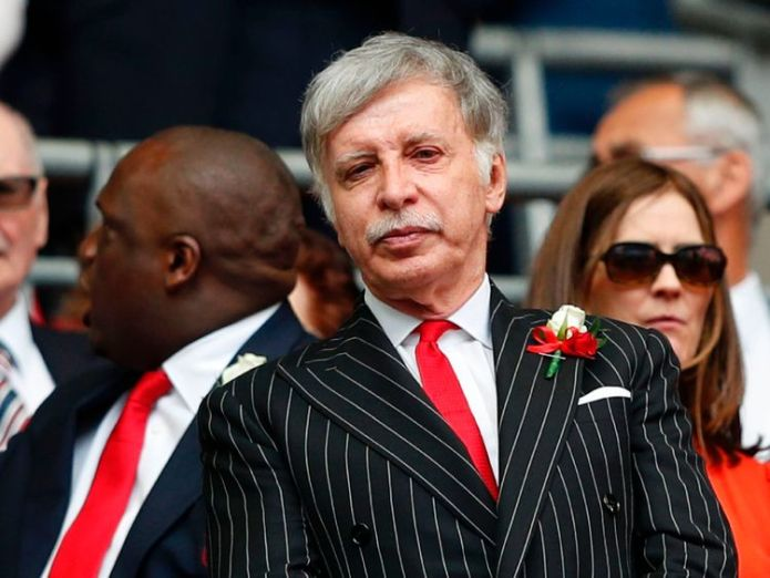 Billionaire Stan Kroenke owns two thirds of Arsenal  Arsenal supporters slam 'dreadful' US sports mogul takeover f868de46af6fc66368e85f9102d33d592ae9c294a2c55fae95c407a82c6482f8 4062975